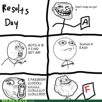 Results Day Meme - arrayo style gcse results day 2013