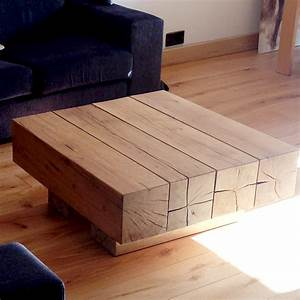 Solid oak beam coffee tables buy oak beam coffee table for Oak beam coffee table