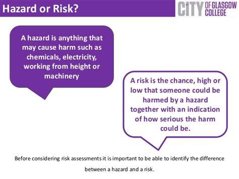 principles  risk assessment