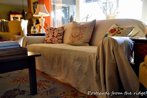 cheap slipcovers for loveseats cheap and easy sofa slipcover postcards from the
