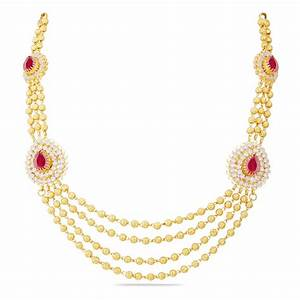 Gold Necklace Design in 30 Grams With Price ~ South India ...