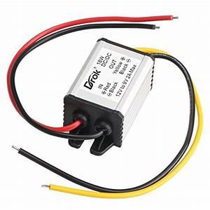 Drok Buck Voltage Reducer Converter 12v To 7 5v 3a  22w