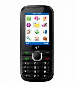 Videocon V1526 Dual Sim Mobile Black Red Price in India ...