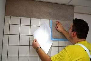 Fliesenfarbe Für Bodenfliesen : pvc wandbelag k che w rmed mmung der w nde malerei ~ Michelbontemps.com Haus und Dekorationen