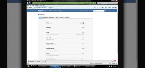change  facebook username internet gadget hacks