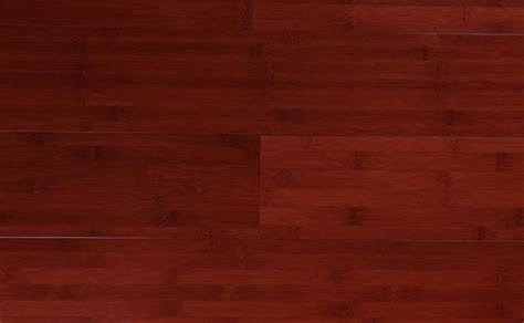 China Red Horizontal Solid Bamboo Flooring : Stained