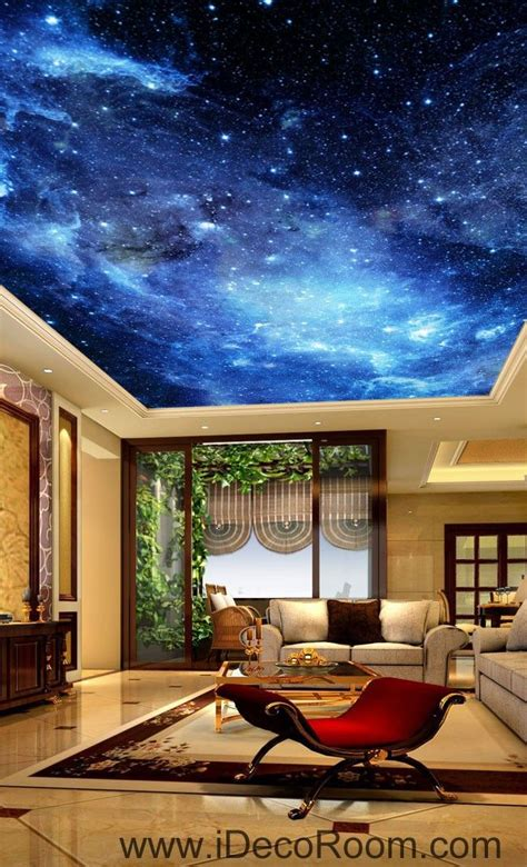 Wall Murals Sky by Galaxy Sky 00075 Ceiling Wall Mural Wall Paper