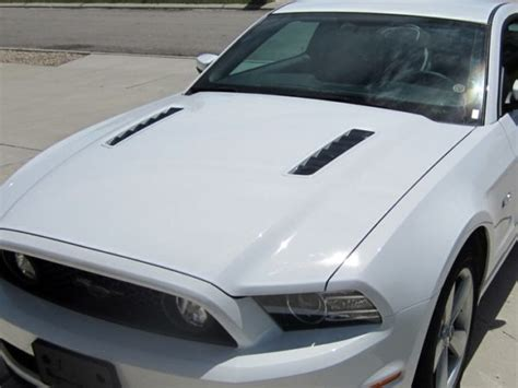 mustang gt hood vent decals rocky mountain