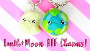 DIY BFF Earth+Moon Charms!! ♡, Kawaii Friday, My Crafts