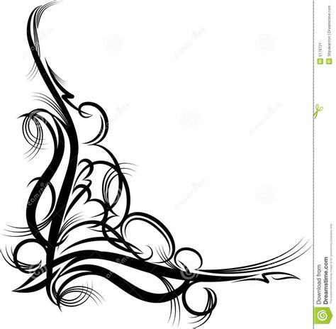 unique cool corner designs esquina decorativa ilustraci 243 n vector ilustraci 243 n de g 243 tico 5179721