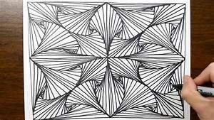 Sketch Doodle Line Illusion Technique  6