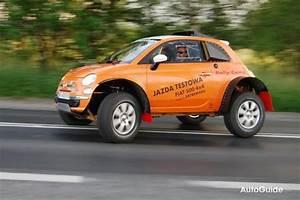 Fiat 500 4x4 : polish fiat 500 owner turns city car into 4x4 news ~ Medecine-chirurgie-esthetiques.com Avis de Voitures