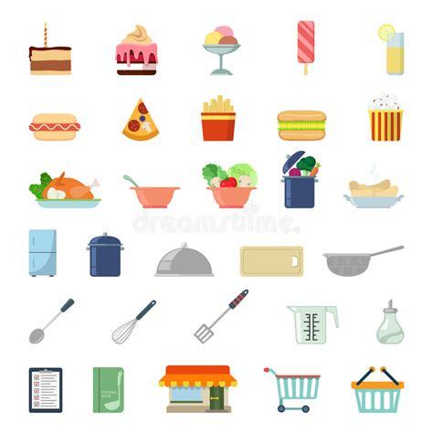 icone cuisine icône plate de la nourriture app de site web cuisson de nourriture de repas d 39 achats photo