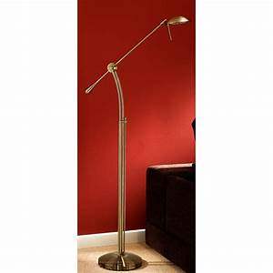 franklite sl147 soft bronze adjustable floor lamp with With floor lamp with dimmer control