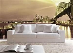 Sofa Hoher Rücken : rustikales sofa bett mit holzrahmen im provenzalischen stil idfdesign ~ Frokenaadalensverden.com Haus und Dekorationen