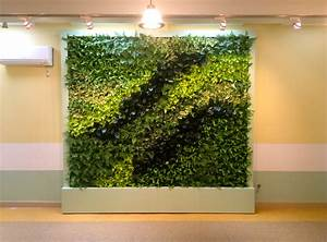 New, Brooklyn, Preschool, Of, Science, Gets, The, Green, Wall, Treatment, From, Gsky, Plant, Systems, Inc