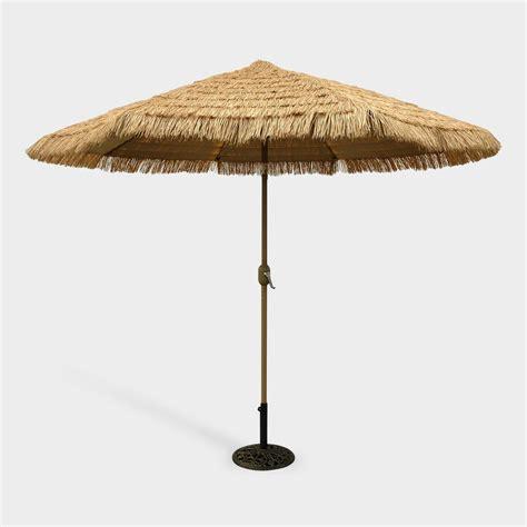 9 ft thatched market umbrella world market