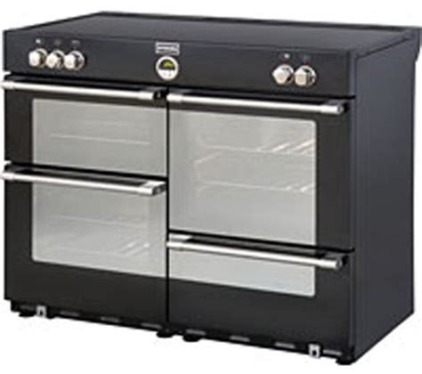 stoves induction range cooker buy stoves sterling 1100ei electric induction range cooker black free delivery currys