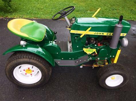 deere 110 fender garden tractor collection on ebay