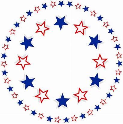 Patriotic Border Clip Stars Background Clipart Transparent