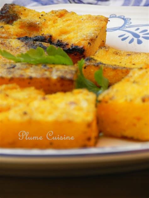 plume cuisine recette polenta une plume dans la cuisine