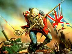 Eddie Iron Maiden The Trooper wallpaper 102219  Iron Maiden Trooper Wallpaper