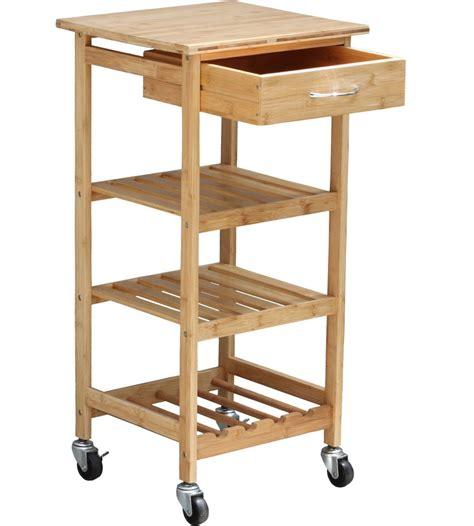 bamboo kitchen island cart bamboo kitchen trolley in kitchen island carts 4305