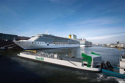 bureau veritas industrial services port of amsterdam to get lng bunkering pontoon