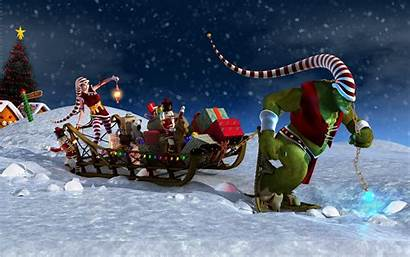 Christmas 4k Windows Wallpapers Background Tablet Samsung