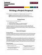Sample Of Informal Proposal Writing Writing A Project Sample Request Letter For Project Proposal 30 Business Business Proposal Letter 16 Download Free Documents In Program Proposal Template 7 Free Word PDF Documents