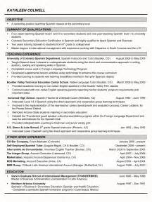 resume template for high student for college resume