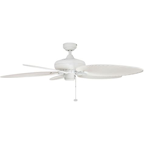 52 inch white ceiling fan honeywell palm island ceiling fan white finish 52 inch