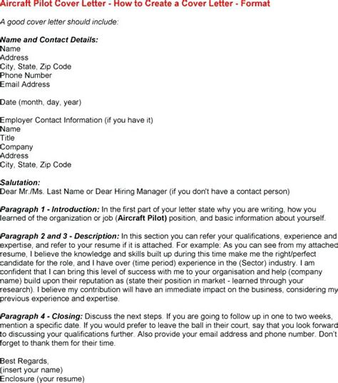 Pilot Cover Letter by Application Letter For Pilot Airline Pilot Cover Letter