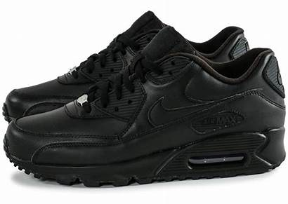 Nike Air Leather Homme Noir Chaussures Noire