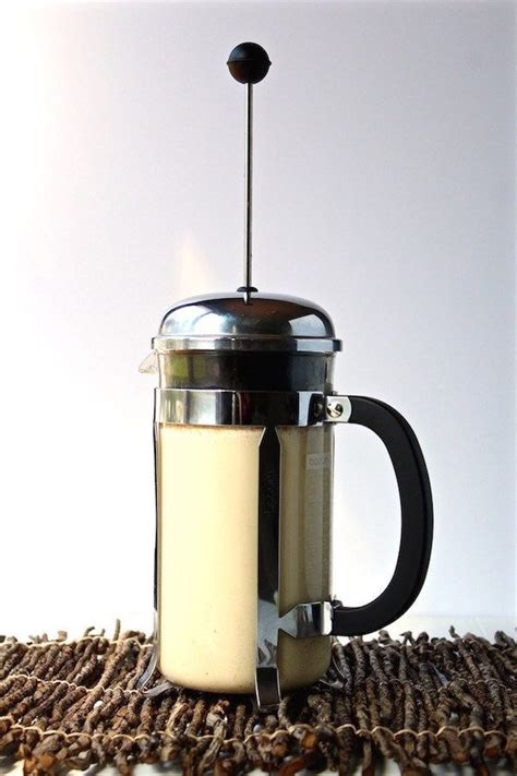 Moka pot (i advise against an aluminum moka pot because this metal can once you have your moka pot, make sure to freshly grind your coffee beans. How to Make Frothy Milk Foam with a French Press (STEP-BY-STEP PHOTOS) | Recipe | Milk in french ...
