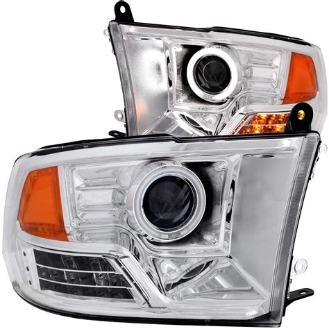 dodge 2500 3500 anzo 111160 led chrome projector