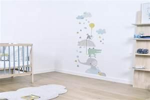 Idée Déco Chambre Bébé Garçon : stickers chambre b b id es inspirations tendances ~ Nature-et-papiers.com Idées de Décoration