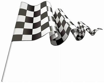 Checkered Flag Clipart Wavy Clip Zielflagge Transparent