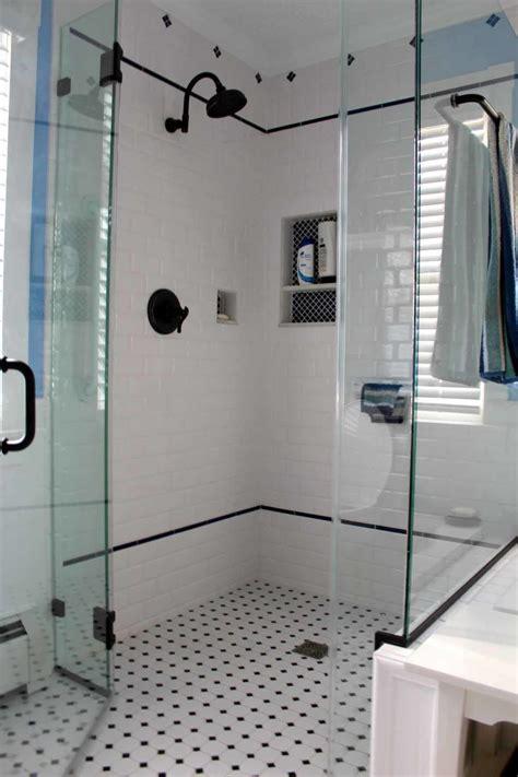 bathroom tile ideas white bathroom white and black mosaic tile floor for