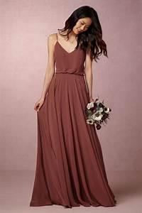 Boho Kleid Hochzeitsgast : airy chiffon bridesmaid dress inesse dress in cinnamon rose from bhldn bridesmaid dresses ~ Yasmunasinghe.com Haus und Dekorationen
