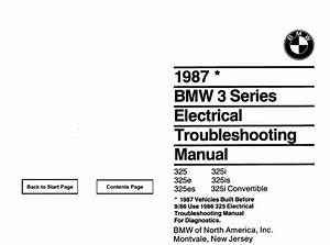 E30 Electrical Troubleshooting Schematics