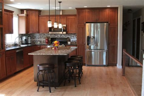 Modern Country Kitchen Remodel  Traditional Kitchen