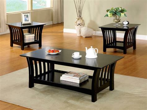 accent table ls contemporary milford contemporary black accent tables with open shelf