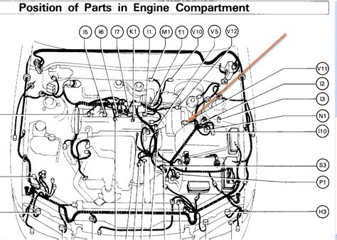 2009 Toyotum Camry Ac Wiring Diagram by Toyota Camry 2003 Engine Diagram Automotive Parts