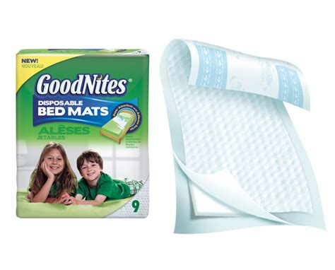 have good nights with goodnites bed mats