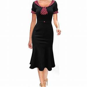 cnway 2016 womens dresses plus size maggie tang 50s With robe pin up vintage