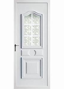 porte d39entree contemporaine en pvc domeau concept With porte d entrée pvc