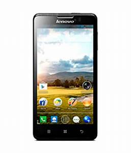 Lenovo P780 Mobile 4gb Black Price In India