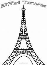 Eiffel Tower Coloring Pdf Printable Paris Cool2bkids Mandala Torre Drawing Cricut Resume Format Colouring Sheet Line France Eifel Para Craft sketch template