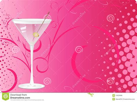 martini glass background martini glass on pink halftone background royalty free